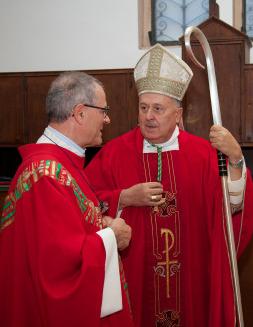 29 settembre 2012: Messa solenne di apertura dell'Anno centenario presideuta da Mons. Erminio De Scalzi