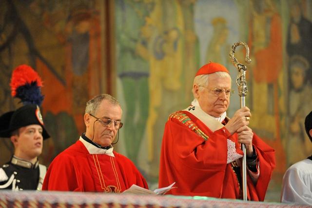 26 marzo 2013: La visita del Cardinale Angelo Scola a Santa Croce